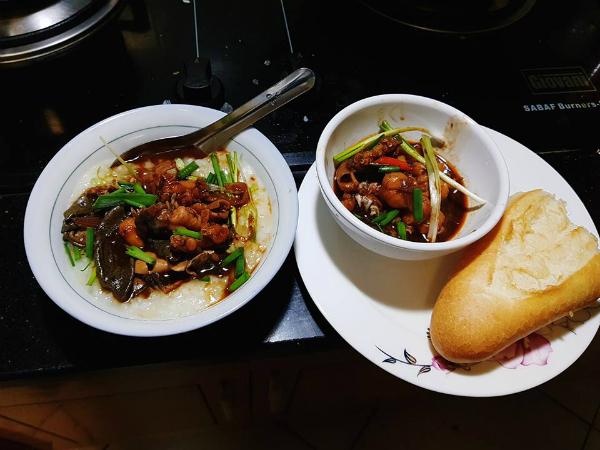Cháo ếch tự làm tại nhà ngon như ăn ở Singapore