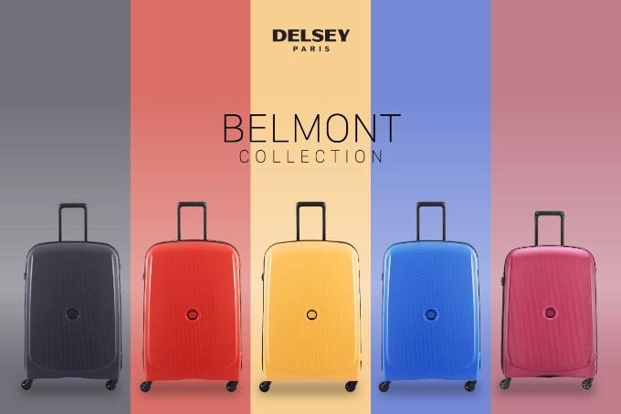 BST Belmont của thương hiệu Delsey (Pháp) với vật liệu polypropylene. Sản phẩm có thiết kế thanh lịch, nhiều màu sắc nổi bật như cam, vàng, hồng, xanh& Sản phẩm bảo hành quốc tế 5 năm.