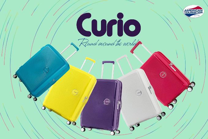 BST Curio - Thương hiệu American Tourister (Mỹ) thuộc gia đình Samsonite. BST đơn giản trong thiết kế, sống động trong màu sắc với chất liệu Polypropylen cao cấp. Sản phẩm bảo hành quốc tế 3 năm.