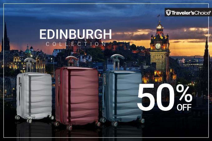 Traverlers Choice - một trong những nhà cung ứng sản phẩm vali, túi xách hàng đầu thế giới mang đến cho người tiêu dùng BST Endingburgh với thiết kế trẻ trung, màu sắc đa dạng sử dụng chất liệu polycarbonate, sáng bóng. Sản phẩm bảo hành quốc tế 10 năm.