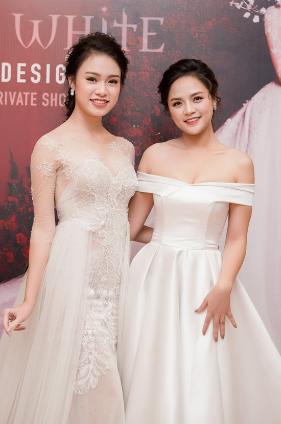 Kỳ Duyên mặc váy cưới 3 tỷ, làm vedette trên sàn diễn