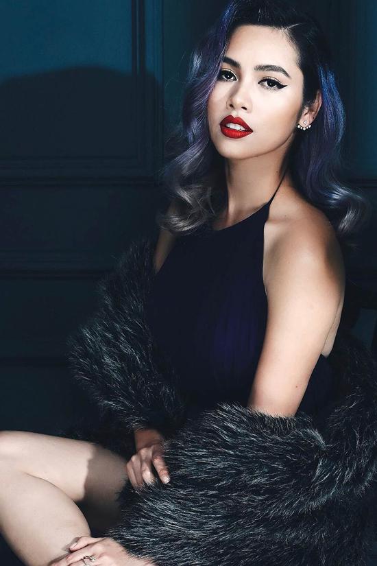 Hoàng My bị mất điểm hoàn toàn với phát ngôn so sánh thiệt hại của bão Damrey với cơn bão thị phi của các thí sinh Hoa hậu.