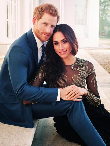 Meghan Markle tự sắm đồ chụp ảnh đính hôn với hoàng tử Harry