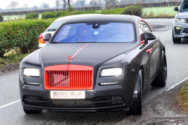 Lukaku lái chiếc Rolls Royce 250.000 bảng