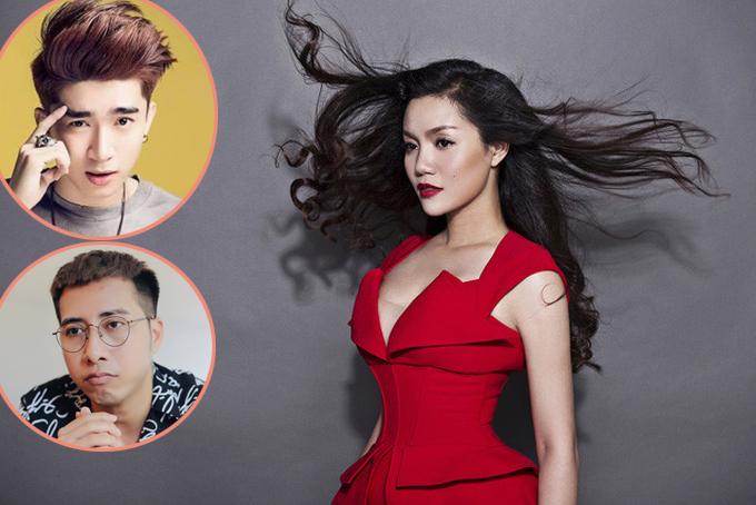 Ngọc Anh khiến Chi Dân, OnlyC bức xúc khi chê âm nhạc của hai nhạc sĩ trẻ này như cái chợ.