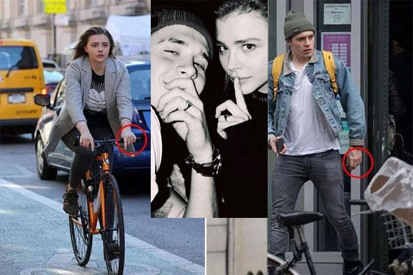 Đôi trẻ đeo nhẫn giống nhau một tháng nay