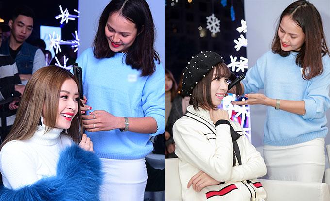 Chi Pu sang trọng, Min cá tính tại sự kiện Giáng sinh