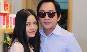 Vợ Kim Tử Long từng háo hức xem chồng hôn Ngọc Huyền