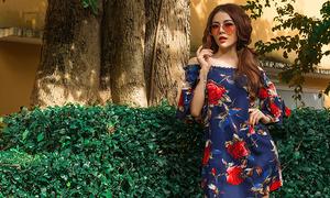 Váy áo xuân hè cho nàng mê hoạ tiết hoa lá