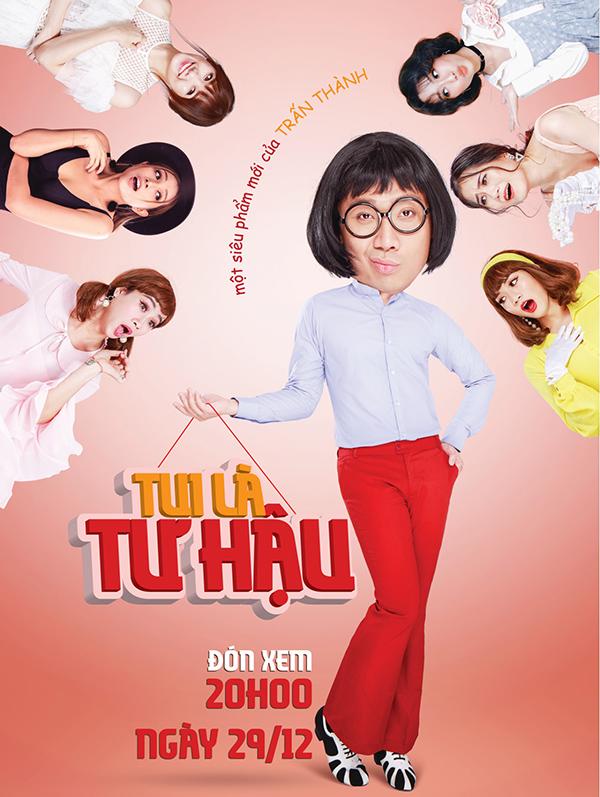 Hari Won đóng trong serie hài 'Tui là Tư Hậu' của Trấn Thành