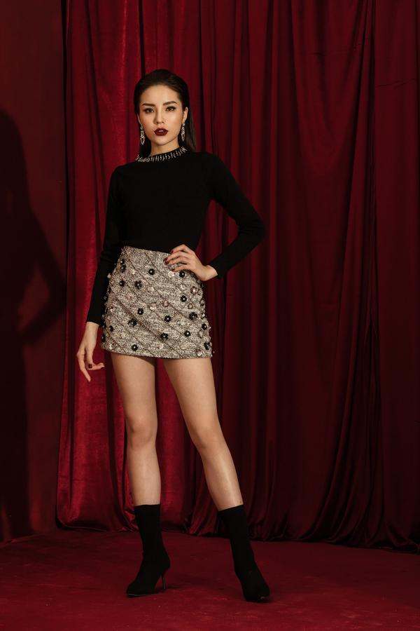 Kỳ Duyên rạng rỡ trong bộ sưu tập Glam Girl của CoCo Sin - 9