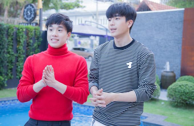 Chanon và James hoàn toàn bất ngờ về thành công của Thiên tài bất hảo. Cả hai chia sẻ, họ không nghĩ khán giả Việt Nam và nhiều nước Đông Nam Á lại thích bộ phim đến vậy.
