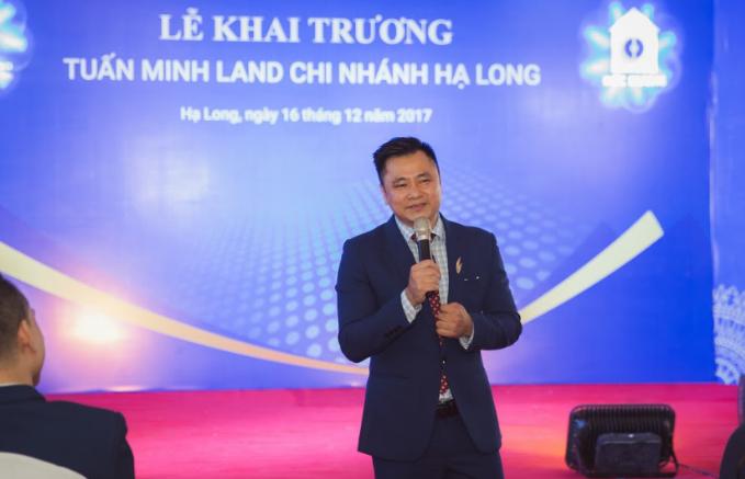 Táo môi trường 2017 - NSND Tự Long khai trương Tuấn Minh Land chi nhánh Hạ Long (xin edit) - 4