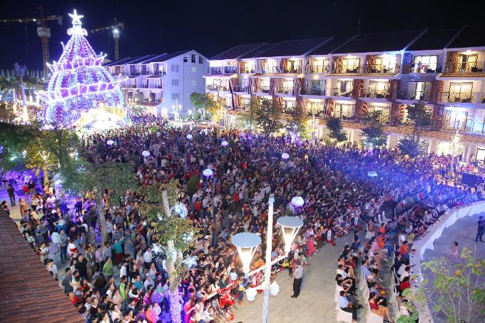 Dàn sao khuấy động đêm nhạc EDM cùng khán giả tại Phú Quốc