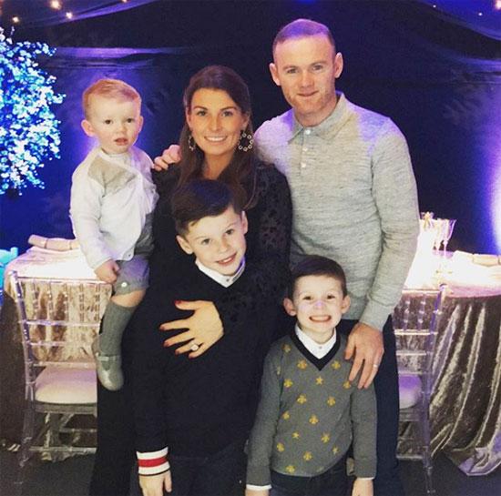 Vợ chồng Rooney bên nhau dịp Giáng sinh