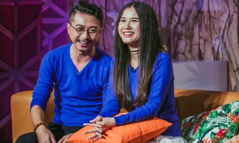 Vợ chồng Hứa Minh Đạt 'chặt chém' nhau trên truyền hình