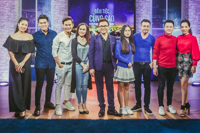Đêm tiệc cùng sao phát sóng vào tối thứ bảy hàng tuần trên Đài truyền hình Việt Nam.