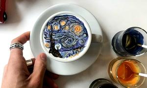 Quán cà phê ở Seoul, nơi mỗi đồ uống là một tác phẩm nghệ thuật