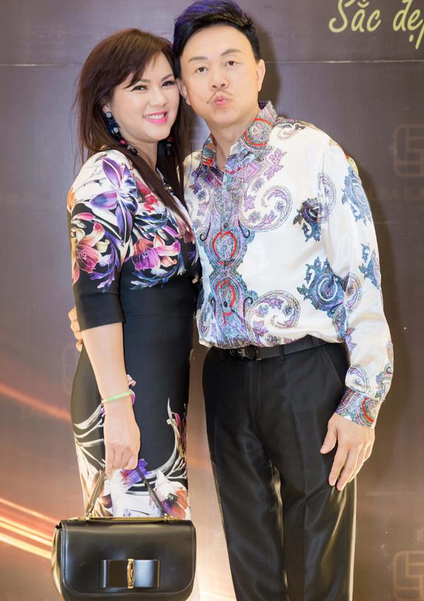 Vợ chồng Chí Tài cưới nhau hơn 30 năm, không có con nhưng họ sống rất hòa hợp, hạnh phúc.