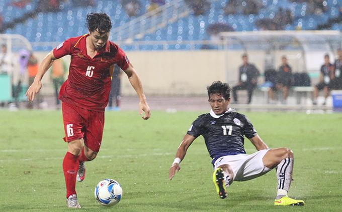 Công Phượng là một trong những tài năng sáng giá nhất của bóng đá Việt Nam hiện nay. Ảnh: Văn Đương.