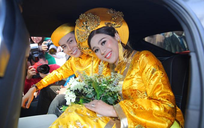 Lâm Khánh Chi mãn nguyện vì sau nhiều trắc trở tình duyên, cuối cùng cô đã tìm được bến đỗ hạnh phúc.