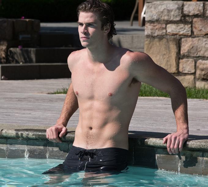 Nam diễn viên Australia, Liam Hemsworth.
