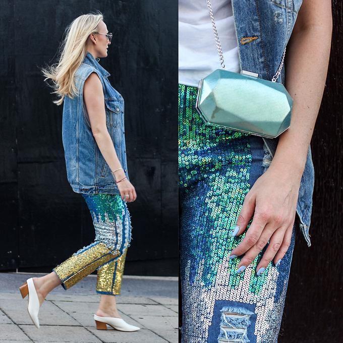 Một điểm nhấn mới lạ và giúp xu hướng của mùa cũ trở nên phong phú hơn đó chính là việc sử dụng các loại vải dệt sequins cho các bộ sưu tập mới.