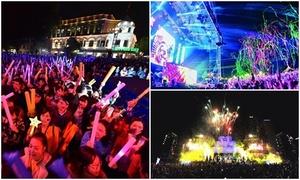 Ba lễ hội đếm ngược đón năm 2018 ở Sài Gòn