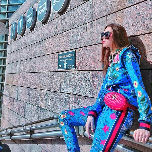 Ngoài dấu ấn của dòng túi thêu hoa, vẽ ong, trang trí hoạ tiết rắn bắt mắt, Gucci còn khiến các fashionista trên toàn thế giới thổn thức với dòng belt bag mới.