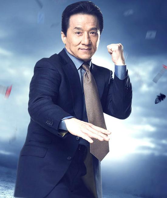 Vị trí cuối cùng trong danh sách thuộc về vua hài Thành Long với chỉ số giá trị thương mại là 65.7. Năm vừa qua bộ phim Kungfu Yogamà ông đạo diễn và đóng chính gặt hái được nhiều thành công và phá vỡ nhiều kỷ lục của những tác phẩm điện ảnh khác. Sau khi tham gia bộ phim Giờ cao điểm năm 1998, tên tuổi của ông được đông đảo người hâm mộ trên thế giới biết đến, tiếng tăm vượt khỏi Đại lục và trở thành một trong những nghệ sĩ có tầm ảnh hưởng lớn nhất tại Trung Quốc. Vào tháng 6vừa qua, ông vua võ thuật bắt đầu đảm nhiệm vai trò đại sứ thương hiệu của hãng hàng không Hong Kong Airlines.