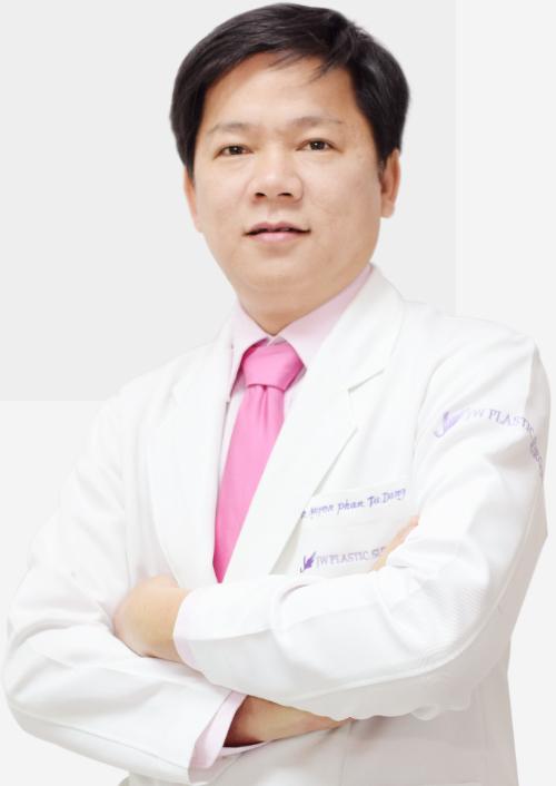 Tiến sĩ, bác sĩ Nguyễn Phan Tú Dung - Giám đốc Bệnh viện thẩm mỹ JW Hàn Quốc.