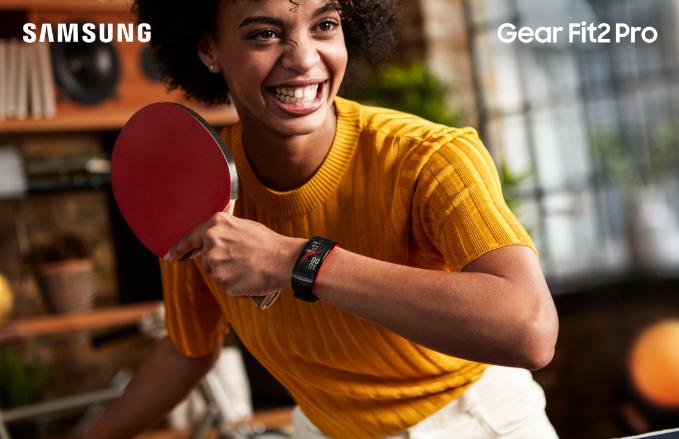 Người dùng nắmđược calo tiêu hao mỗi ngày cùng với Gear Fit2 Pro.