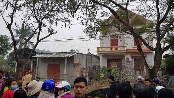 Căn nhà nơi xảy ra án mạng.