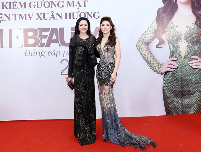 vừa xuất hiện trong đêm chung kết The Beauty 2017  Đẳng cấp phái đẹp diễn ra vào ngày 28/12, tại Cung Văn hóa Hữu nghị Việt Xô, Hà Nội,