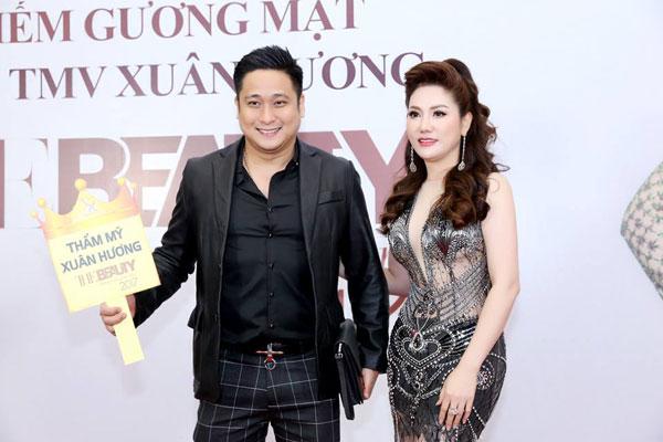 Hoa hậu Xuân Hương diện váy xuyên thấu dự đêm chung kết cuộc thi sắc đẹp - 3