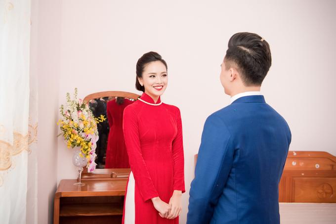 Đôi uyên ương đã gắn bó bên nhau khoảng một năm rưỡi trước khi quyết định đi đến hôn nhân.