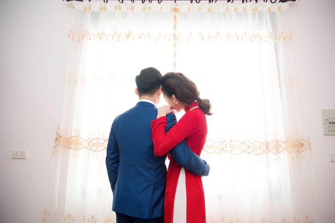 Người đẹp và ông xã đã chuẩn bị cho kế hoạch hôn nhân từ nửa năm trước. Sau lễ ăn hỏi, cả hai sẽ tổ chức đám cưới vào ngày 5/1/2018 tại nhà trai ở Nam Định và nhà gái ở Thái Nguyên.
