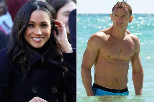 Meghan suýt được chọn đóng phim Điệp viên 007 cùng tài tử Daniel Craig. Ảnh: PageSix