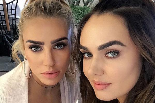 Tamara và Petra (trái) là con gái của ông trùm Bernie Ecclestone và người vợ thứ hai Slavica. Hai người đẹp đều cao ráo giống mẹ và là những thương gia xinh đẹp, thành công.