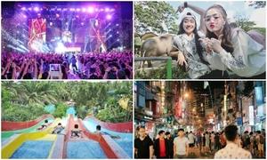 Điểm vui chơi cho những người ở lại Sài Gòn dịp Tết Dương lịch