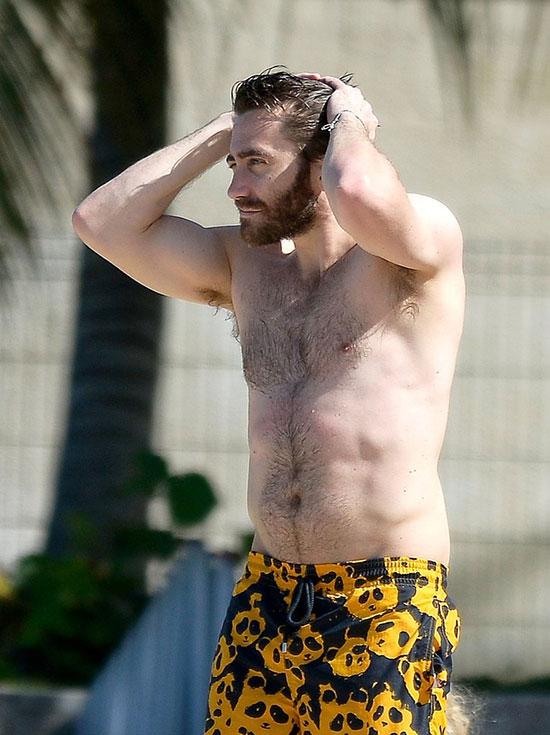 Từng có lúc giảm cân gầy tong teo để đóng phim nhưng Jake Gyllenhaal đã nhanh chóng lấy lại phong độ.