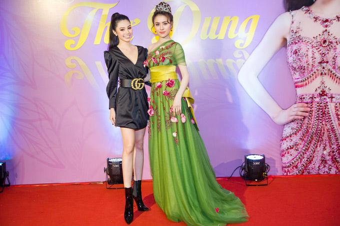Hoa hậu người Việt tại Australia 2015 Jolie Nguyễn tới chung vui với Thư Dung. Hoa hậu sắc đẹp hoàn mỹ toàn cầu 2017 hiện tham gia chương trình The Look. Ngoài nghề người mẫu, cô còn là diễn viên trong phim Cali mùa hoa vàng của đạo diễn Xuân Phước.