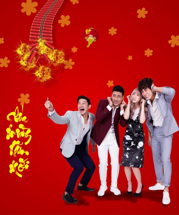 Gia đình Lý Hải chụp ảnh Tết cùng dàn diễn viên Lật mặt 3 - 7