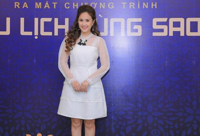 Diễn viên Phương Hằng tái xuất sau khi kết hôn.