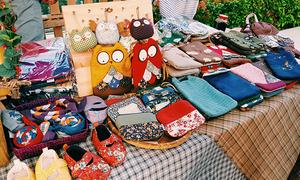 Phiên chợ đồ handmade - điểm đến cho du khách Đà Nẵng dịp Tết Dương lịch