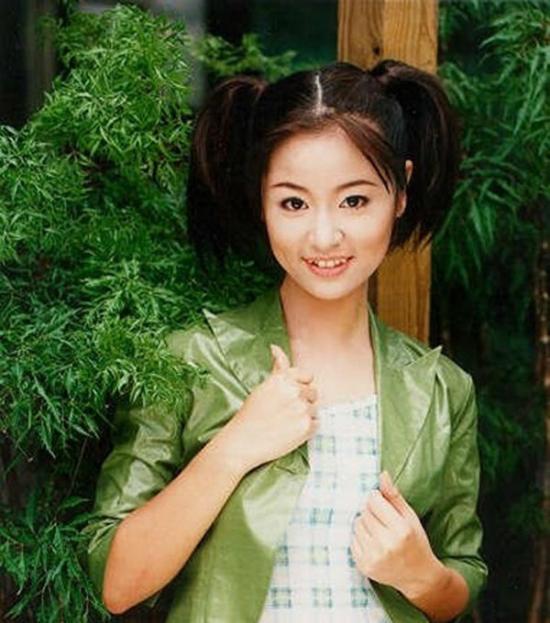 Vẻ đẹp nhí nhảnh, tươi sáng của Lâm Tâm Như của hơn hơn 20 năm trước.