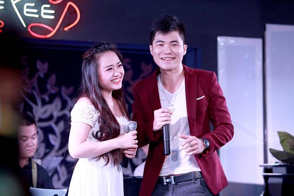 Vợ chồng Phương Thanh - Tiến Mạnh.