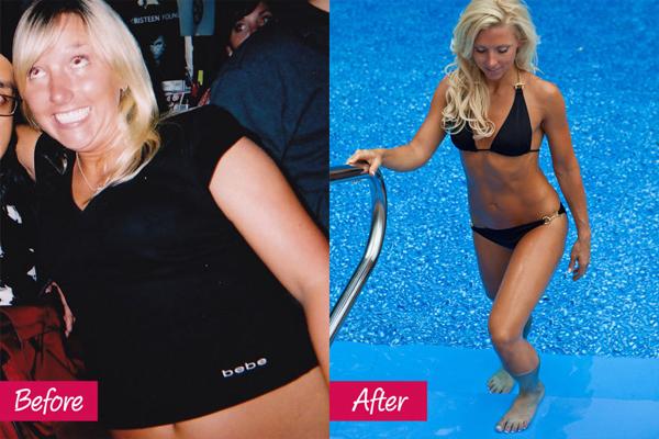 Kyra Williams, 34 tuổi, đã giảm 75 kg một cách ngoạn mục nhờ từ bỏ thói quen uống cocktail và ăn đồ ăn nhanh. Cô theo đuổi thực đơn lành mạnh với