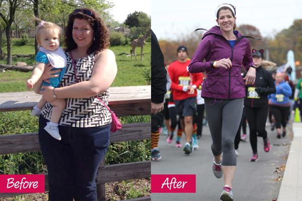 Kristin Westerfield, 32 tuổi, giảm 58 kg nhờ phi vụ đặt cược trên mạng. Cô đặt cược rằng mình có thể giảm 45 kg trong một năm. Kết quả là,