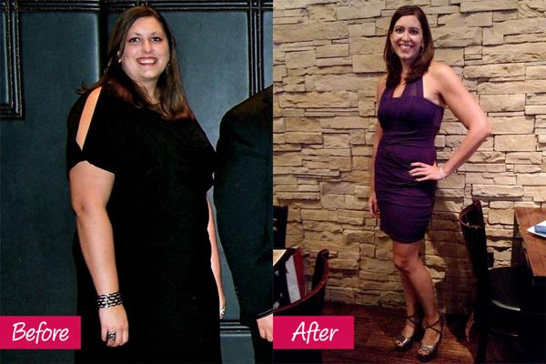 Alicia Trimble, 34 tuổi, đã giảm hơn 50 kg nhờ ăn nhiều bữa hơn mỗi ngày. Alicia từ bỏ thói quen ăn đồ ăn nhanh, chuyển sang ăn thực phẩm giàu dinh dưỡng. Cô chia nhỏ thực đơn thành 6 bữa, ăn trong 12 tiếng, từ 7 giờ sáng đến 7 giờ tối, sau đó, cô không ăn gì thêm. Ngoài ra, Alicia còn tích cực đi bộ và tập zumba.